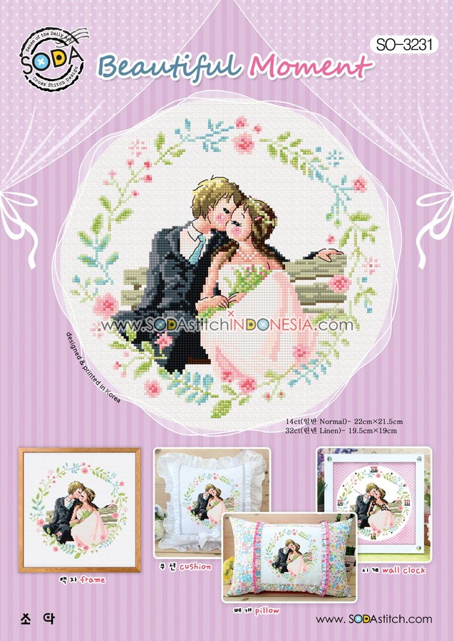 Sodastitch Indonesia PKT-SO-3231 - Paket Beautiful Moment