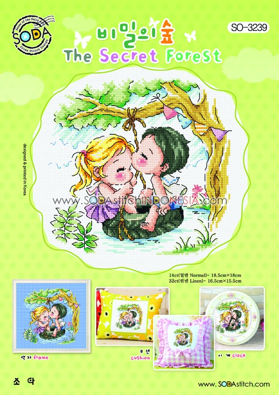 Sodastitch Indonesia PKT-SO-3239 - Paket The Secret Forest