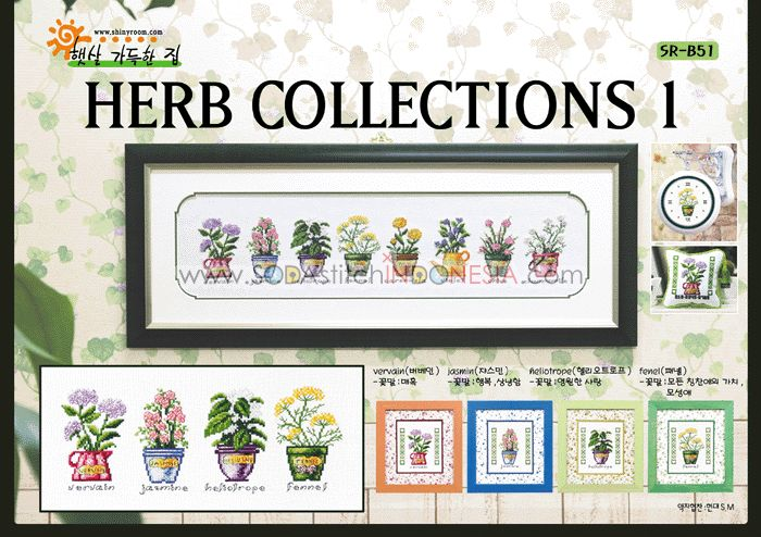 Sodastitch Indonesia PKT-SR-B51 - Paket Herb Collections I