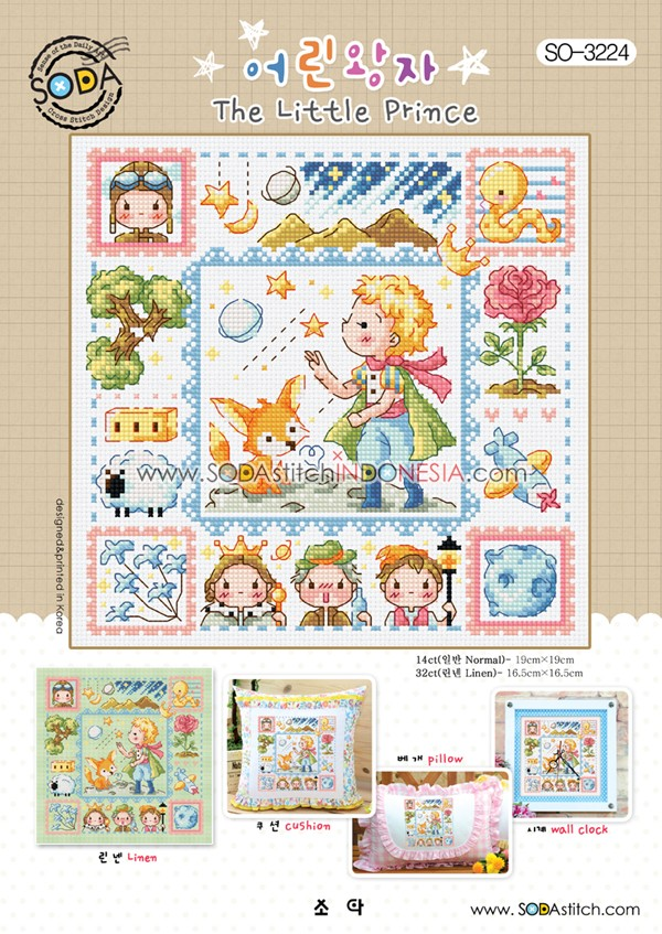 Sodastitch Indonesia SO-3224 - The Little Prince