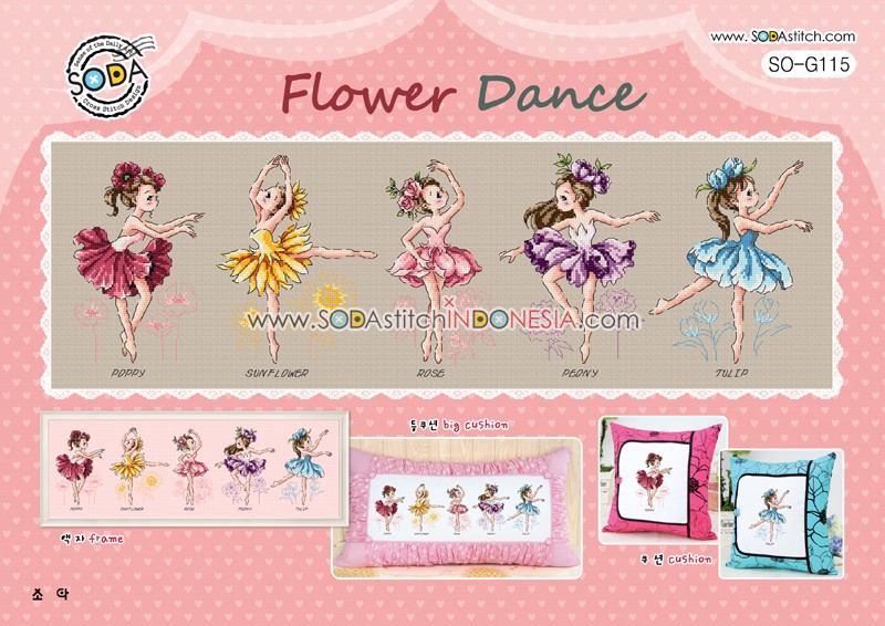 Sodastitch Indonesia SO-G115 - Flower Dance
