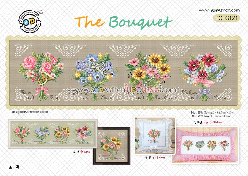 Sodastitch Indonesia SO-G121 - The Bouquet